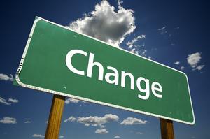 change-road-sign